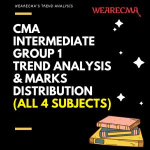 CMA Intermediate Group 1 Trend analysis