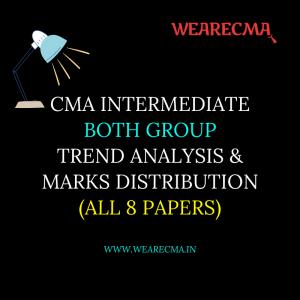 cma intermediate both group trend analysis