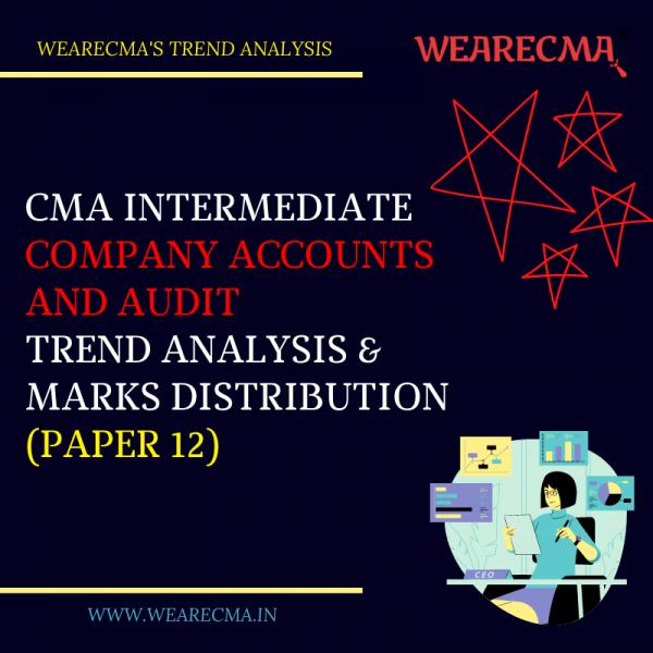 cma intermediate caa trend analysis
