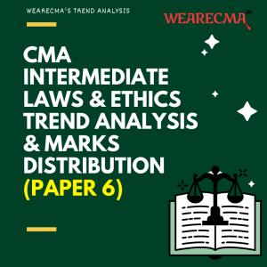 CMA Intermediate law trend analysis