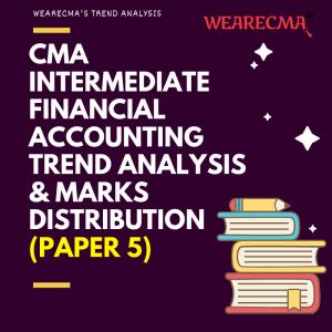 cma intermediate financial accounting trend analysis
